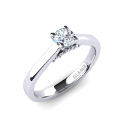 GLAMIRA Ring Violet 0.25 crt