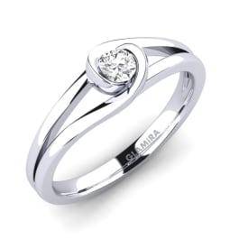 GLAMIRA Ring Donisha 0.16 crt