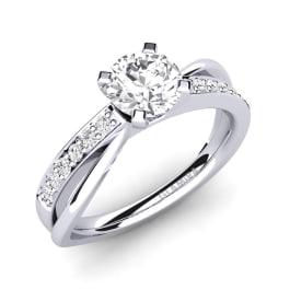 GLAMIRA Ring Viviette 0.8 crt