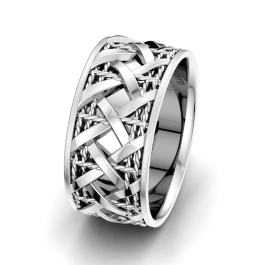 Men's Ring Sensual Corona 10 mm