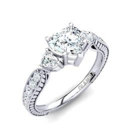 GLAMIRA Gyűrű Erica