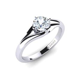 GLAMIRA Ring Alfrida 0.5 crt