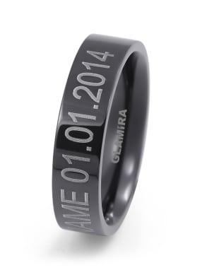 Herrering Ring Black