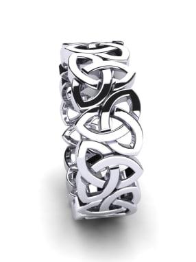 Damenring Celtic Chain