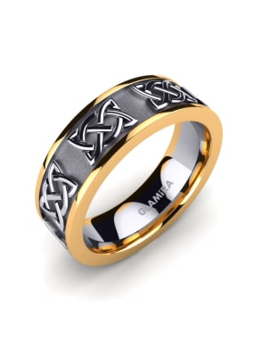 Herrenring Celtic Harmony