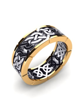 Herrenring Celtic Craft