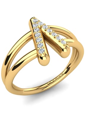 GLAMIRA Knuckle Ring Accalia