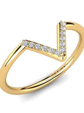 GLAMIRA Knuckle Ring Auzrial