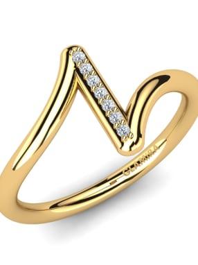 GLAMIRA Knuckle Ring Azolla