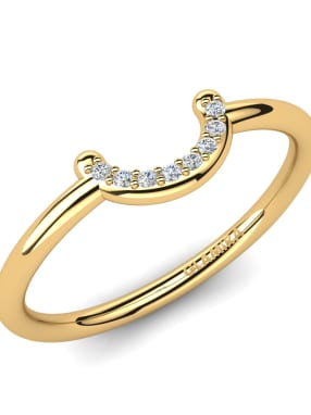 GLAMIRA Knuckle Ring Berith