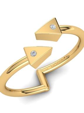 GLAMIRA Knuckle Ring Celandia