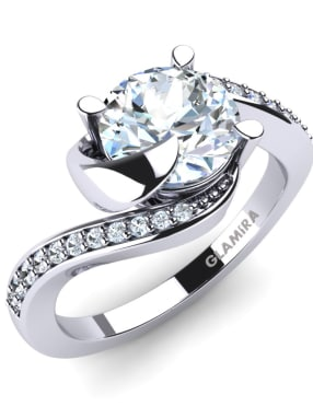 Glamira Bridal Set Sinuous Ring A