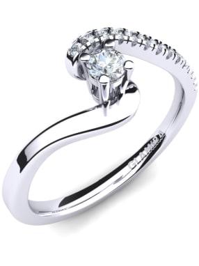 GLAMIRA Ring Doreen 0.1crt