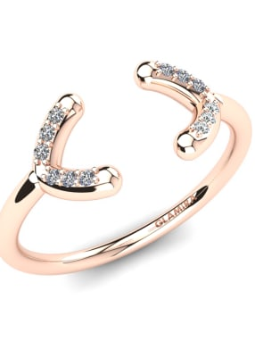 GLAMIRA Knuckle Ring Dilean