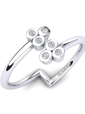 GLAMIRA Knuckle Ring Docila