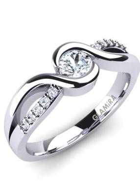 GLAMIRA Ring Dahlia 0.25crt