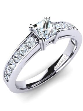 GLAMIRA Ring Cynthia 0.36crt