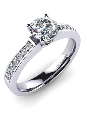 GLAMIRA Diamonds Ring Ruby