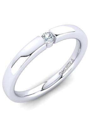 GLAMIRA Ring Alexis 0.07crt