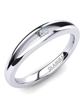 GLAMIRA Ring Jessica 0.03crt