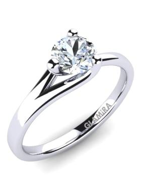 GLAMIRA Ring Bridal Heart 0.5crt