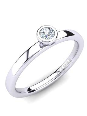 GLAMIRA Ring Bridal Passion 0.1crt