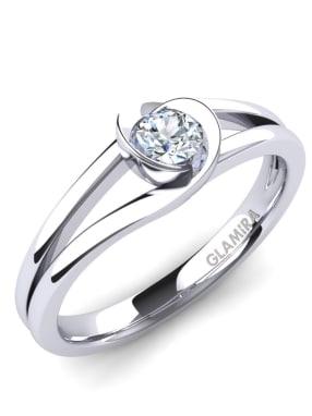 GLAMIRA Ring Freesia 0.16crt
