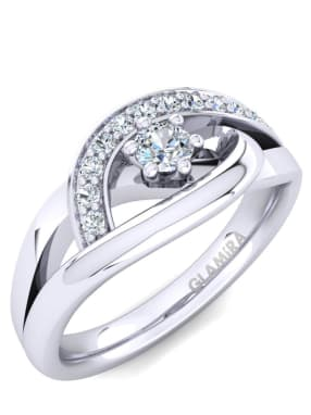 Glamira Ring Trina 0.1 crt