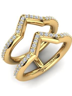 GLAMIRA Knuckle Ring Naiya