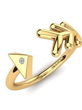 GLAMIRA Knuckle Ring Petrina
