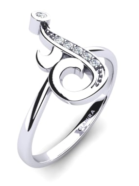 Glamira Initialen Ringe J