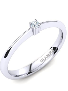 GLAMIRA Ring Julia 0.03crt