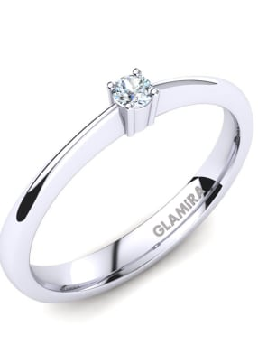 GLAMIRA Ring Julia 0.05crt