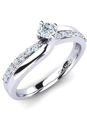 GLAMIRA Ring Lia 0.16crt