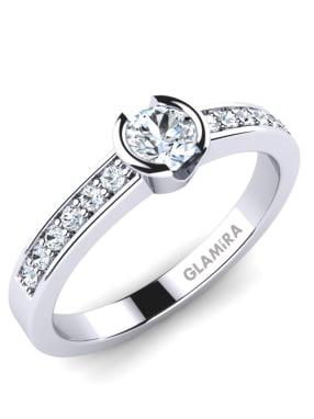 GLAMIRA Ring Penthe 0.25crt
