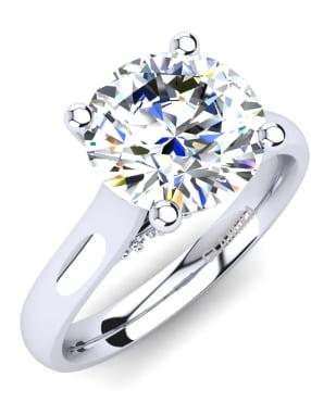 GLAMIRA Ring Violet 2.0 crt