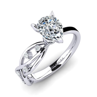 GLAMIRA Ring Aracelis - Pear
