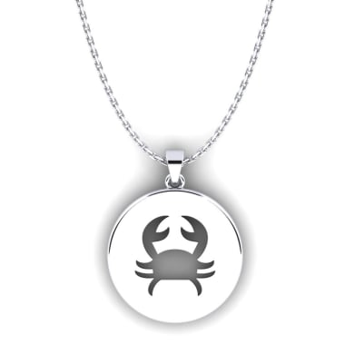 GLAMIRA Horoscope Pendant Cancer