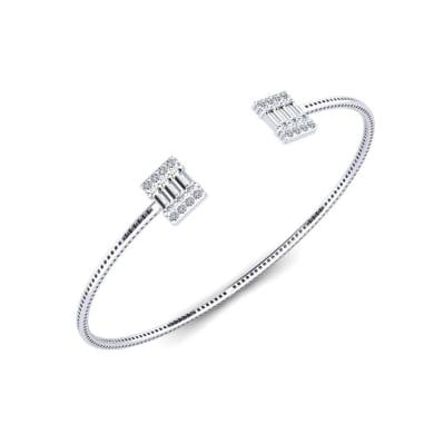 GLAMIRA Bracelet Couronne Large