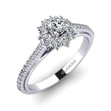 GLAMIRA Ring Daffney 0.16 crt