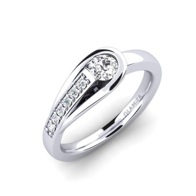 GLAMIRA Ring Genifer 0.25 crt