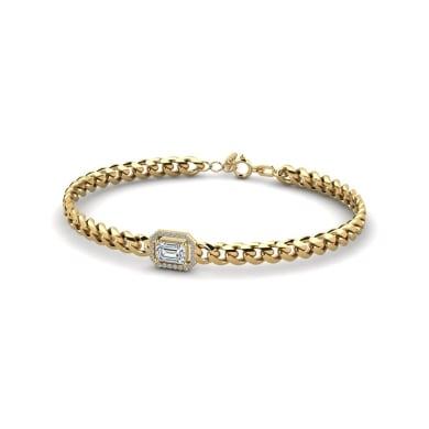 GLAMIRA Bracelet Jayla - Emerald