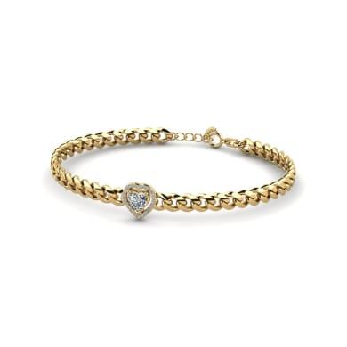 GLAMIRA Bracelet Jayla - Heart