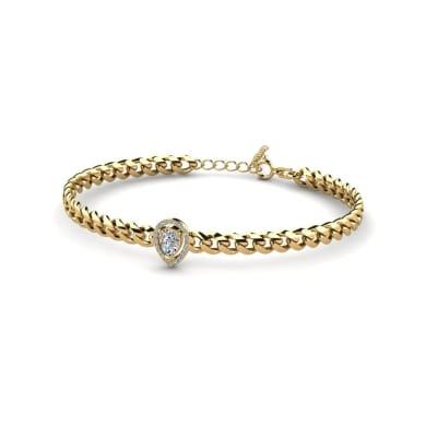 GLAMIRA Armband Jayla - Pear