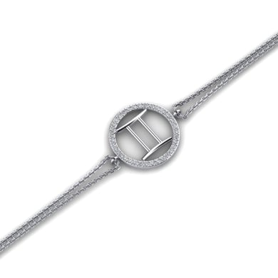 GLAMIRA Bracelet Kaleigh - Gemini