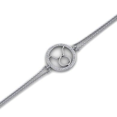 GLAMIRA Bracelet Kaleigh - Taurus