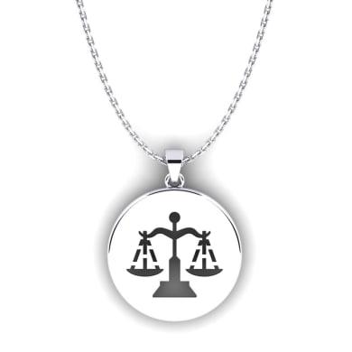 GLAMIRA Horoscope Pendant Libra