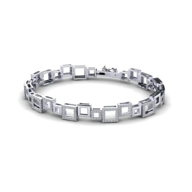 GLAMIRA Bracelet Shaylia Large