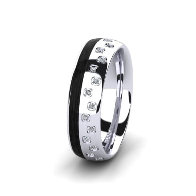 Women's Ring Confident Blaze 6 mm