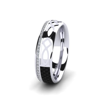 Women's Ring Confident Courage 6 mm